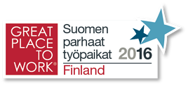 Suomen parhaat työpaikat 2016